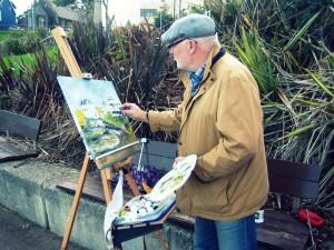 portrush - painting
